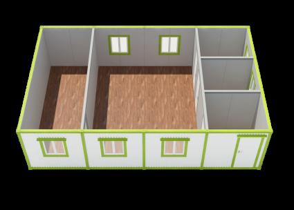 Модульное здание МЗ-04